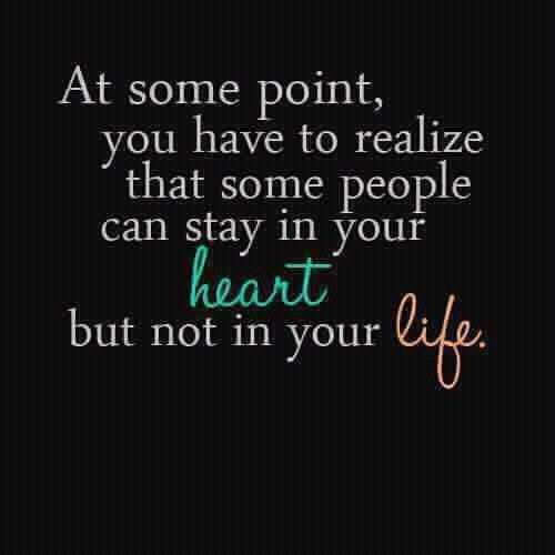 Heart   Life   Quote ..even when you wish they'd stay, sometimes letting go is just best