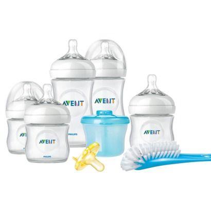 Philips Avent BPA Free Natural Infant Bottle Starter Set
