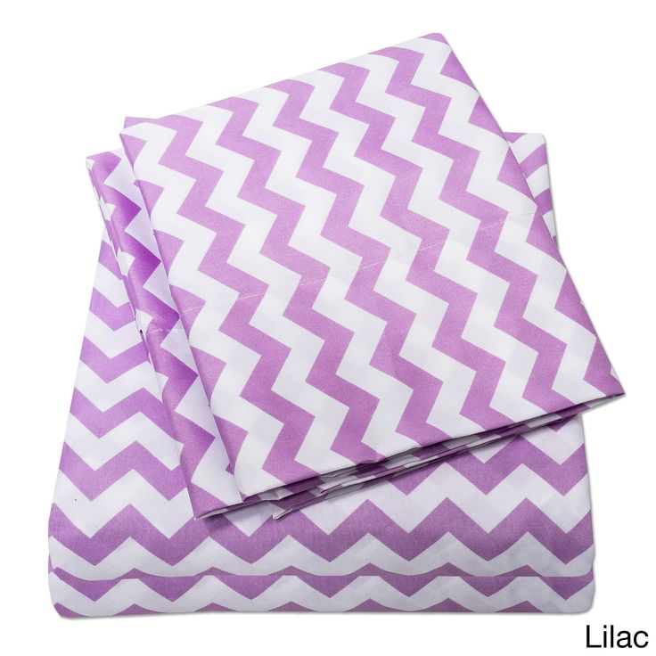 N Incredibly Soft 4-Piece Chevron Sheet Set