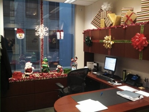 Holiday Office Decorations Holiday Decoration Contest