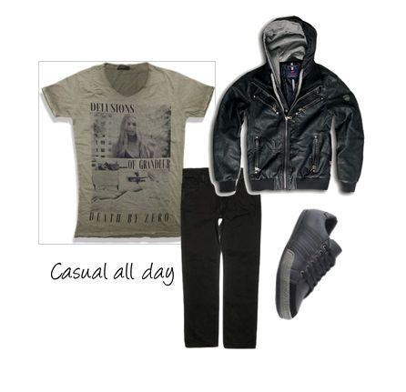 Leather Casual all day  www.millenniumshop.gr