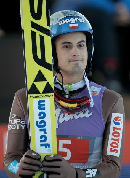 Maciej Kot of Poland looks on after his final competition jump on Day 2 of the 65th Four Hills Tournament ski jumping event  on January 1, 2017 in Garmisch-Partenkirchen, Germany.