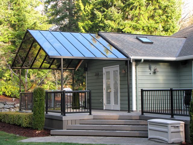 View Hansen Architectural Systems Skyvue Patio Covers