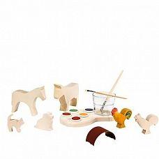 Schilderset houten figuren van Ostheimer, Creatief