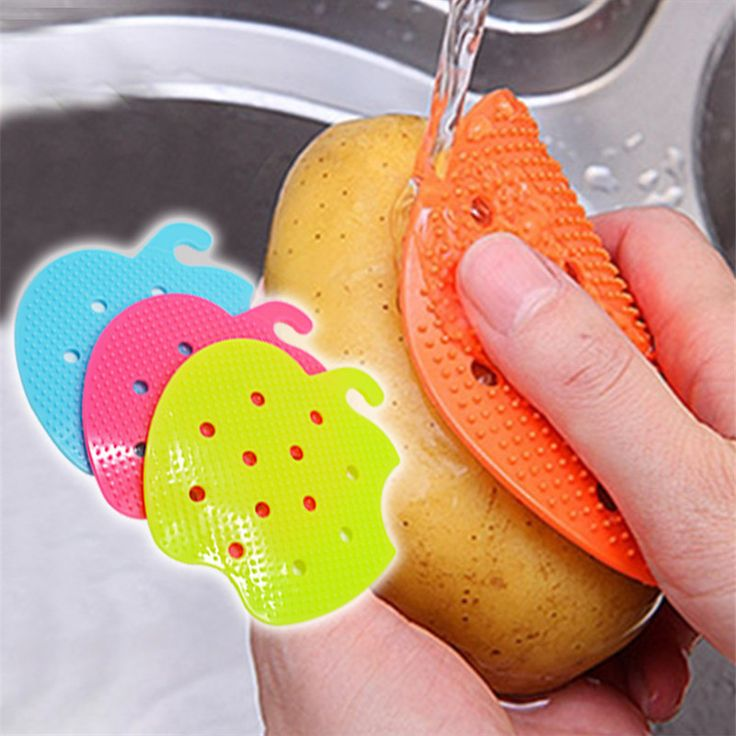 Multi-functional Fruit Vegetable Brush Kitchen Tools Easy Cleaning Brush For Potato Kitchen Home Gadgets cooking tool