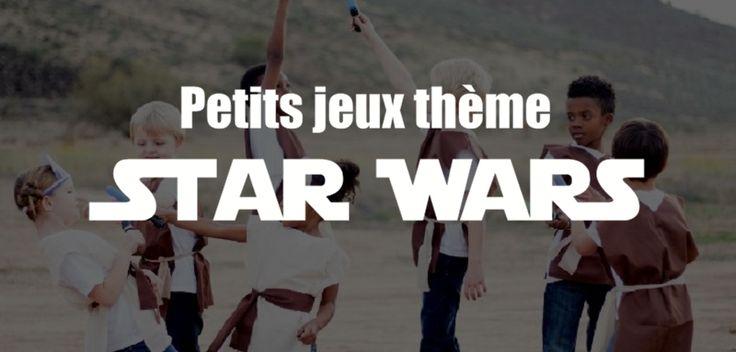 Voici des jeux thème Star Wars que vous pouvez utiliser pour une fête d'anniversaire Star Wars ou autre. Des jeux de groupe sur le thème de Star Wars...