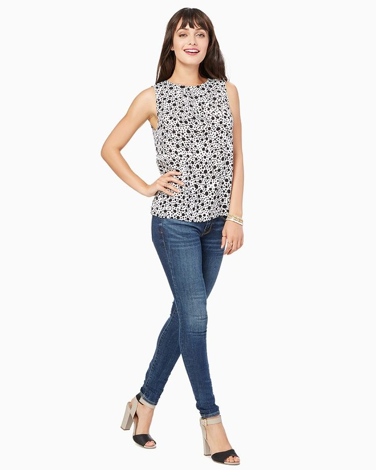 charming charlie | Dahli Dotted Top | UPC: 100299935 #charmingcharlie
