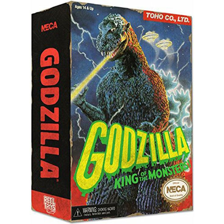Godzilla Classic Video Game Appearance Action Figure