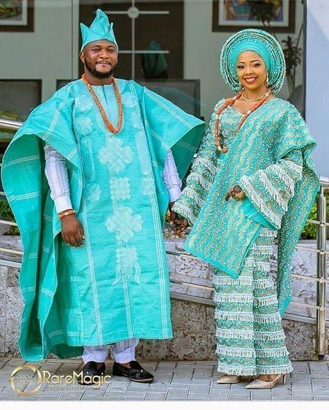 Photo Gallery Nigerian Wedding: Studded Bright And Beautiful! Asooke By @bimmms24 MUA
