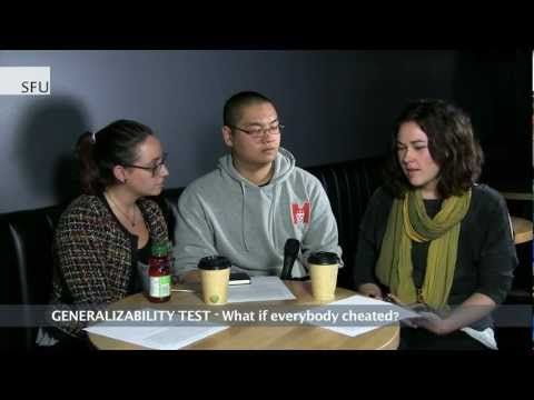 SFU - Ethical test to assess behaviour affecting academic integrity - YouTube