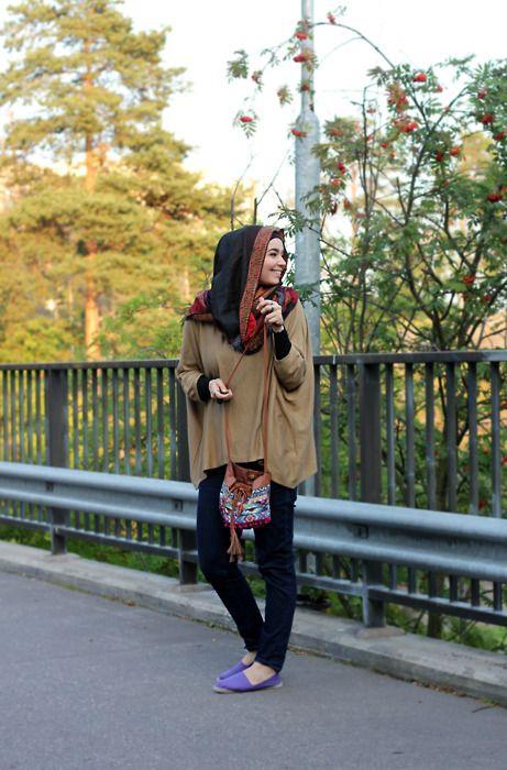 <3Hijab Fashion, Beautiful Hijabs, Casual Style, Hijabs Casual, Casual Hijabs, Hijabs Fashion, Hijabfashion, Muslimah Fashionista, Hijabs Style