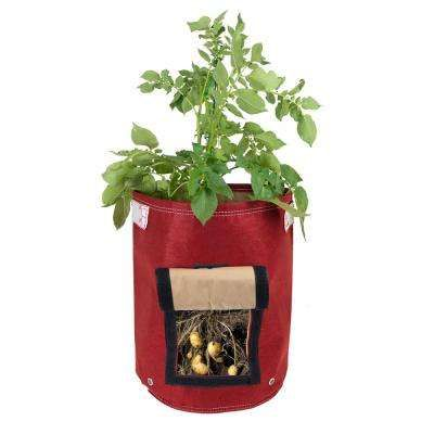 9 Gal Amaranth Fabric Potato Planter Bag Cool Stuff At The Home