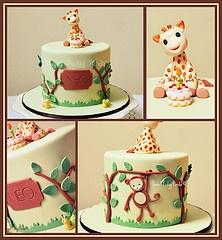 Sophie the Giraffe Cake