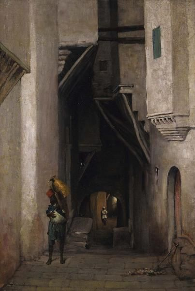 William Sartain, Algerian Water Carrier, after 1874, oil, Smithsonian American Art Museum