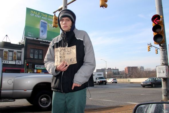 Baltimore City is considering a panhandling ban.     1/31/2013