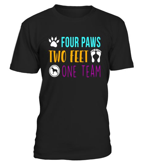 "# Four Paws Two Feet One Team Funny T-Shirt .  Special Offer, not available in shops      Comes in a variety of styles and colours      Buy yours now before it is too late!      Secured payment via Visa / Mastercard / Amex / PayPal      How to place an order            Choose the model from the drop-down menu      Click on ""Buy it now""      Choose the size and the quantity      Add your delivery address and bank details      And that's it!      Tags: Dog Lovers T-shirt, Puppy Lover, Dog Vet…"
