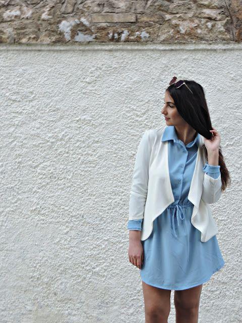 Blue Madness - Study About Fashion - by Alexandra Alexandridou