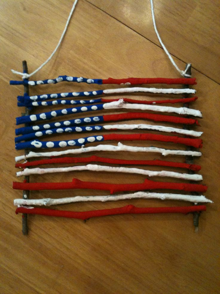 Our 4th of July craft