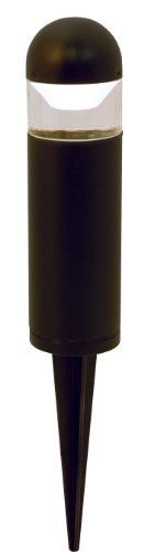 Moonrays 95555 1-watt LED Low Voltage Metal Bollard Landscape Light Fixture, Black by Moonrays. $15.89. Moon rays 95555 LED Metal Bollard Landscape Light Fixture, Black, 1-Watt. About 8.5 Inch tall. Use in your low voltage lighting system. 1-watt LED bulb with 100,000 hour life expectancy. Warm white LED light glows perfectly for your pathway. Outdoor lighting requires a power pack and can be mixed and matched with different lights.