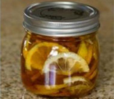 Zázvor, med a citron (léčivé želé)