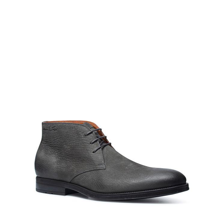 Grijze hoge derby veterschoenen  Description: Grijze derby veterschoenen van het merk Van Lier. De perfecte nette schoenen voor onder een pak maar ook leuk om casual te dragen met een nette jeans en blouse. De gehele schoen is van leer.  Price: 189.99  Meer informatie  #manfield