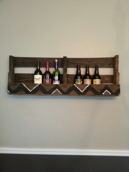 pallet wine bomber rack wine rack pinterest pallets. Black Bedroom Furniture Sets. Home Design Ideas