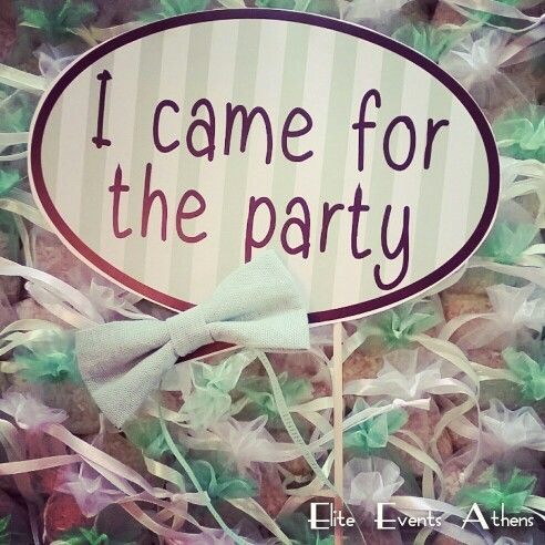 Photobooth props bubbles sticks sayings quotes, i came for the party , for a mint green wedding by Elite Events Athens - Elite Events Santorini  #eliteeventsathens #eliteeventssantorini #wedding and #baptism #planning at #skyrosisland #mintgreen #white #colors #mrandmrs #babyboy #destinationwedding in #Skyros #Greece #eventplanning #decoration #flowers #greekwedding #greekbaptism #greekbride #greekcouple #greekchurch #beachwedding #beachparty #yesido #yesidogr #tietheknot #weddingtales…