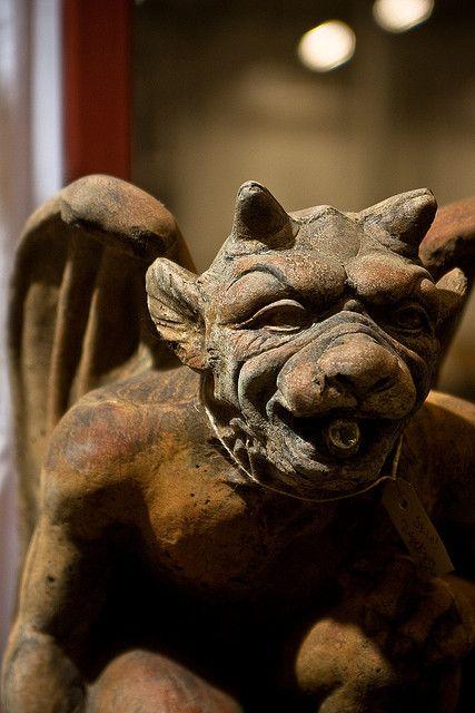 Gargoyle by Endemoniada, via Flickr