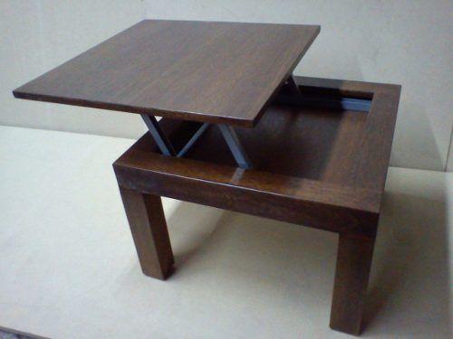 mesa ratona con tapa elevable directo de fabrica ajmuebles
