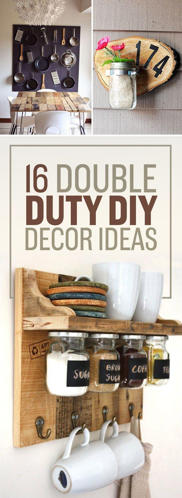 DIY multifunctionele decoratie ideeën