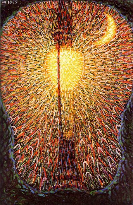 Street Light by Giacomo Balla.