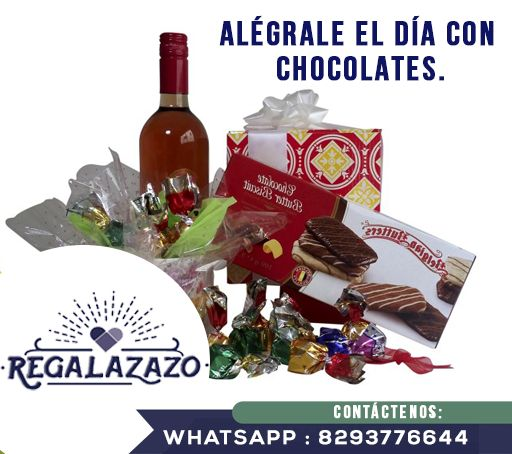 Cualquier día es una ocasión especial para sorprender, endulzar y alegrarle el día al ser amado, con un REGALAZO… http://regalazazo.com.do/…/15-alegrale-el-dia-con-chocolate… REPUBLICA DOMINICANA Telefono: 8093751682 Email : ventas@regalazazo.com.do Whatsapp : 8293776644 #Chocolates #Alegría #Díadelpadre #REGALAZAZO #Detalles #Amor #Santodomingo #Republicadominicana #Hombre #Regalosorpresa #Desayunos #Regalos #Amantedeldeporte #AmantesdelWhisky 