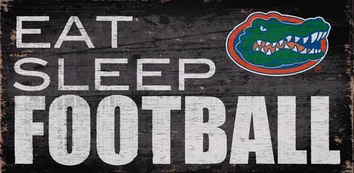University of Florida Gators Football Sign Wall Art