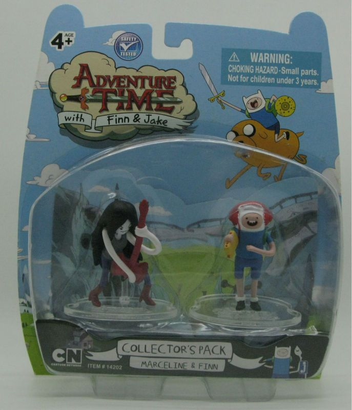 NEW Adventure Time Marceline and Finn 2 inch Action Figure Collector Pack //Price: $13.98 & FREE Shipping //     #actionfigurecollectors