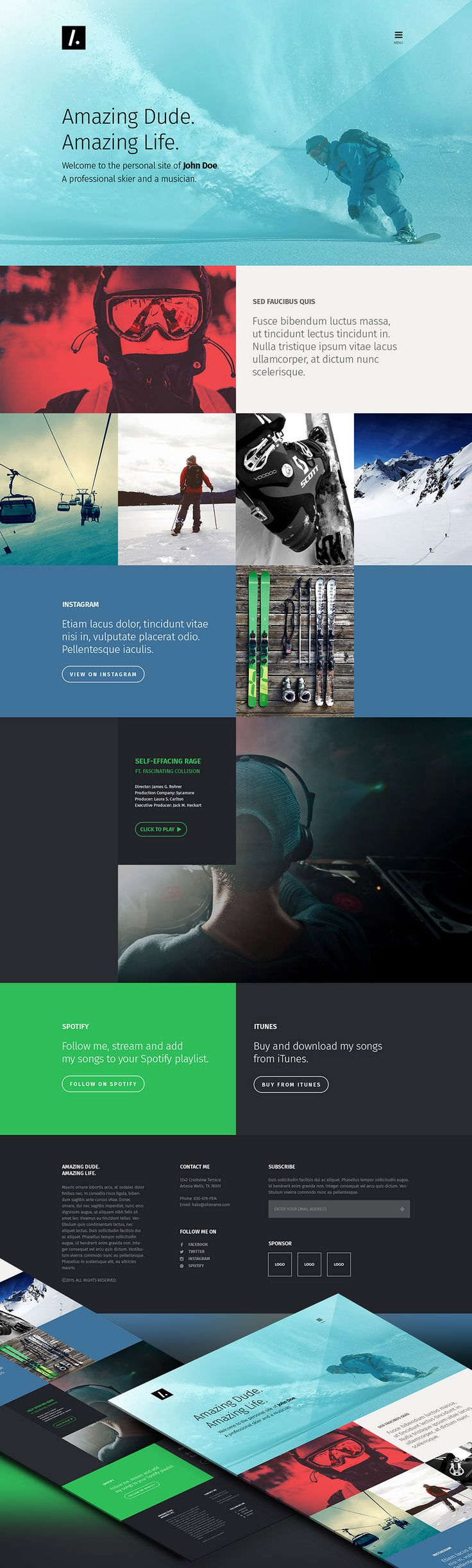 Best 25+ One page website ideas on Pinterest | Web layout, Un ...