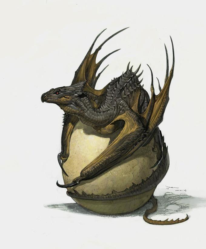 Billedresultat for hatchling dragon
