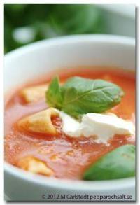 Minestronesoppa, vegetarisk - Sopprecept