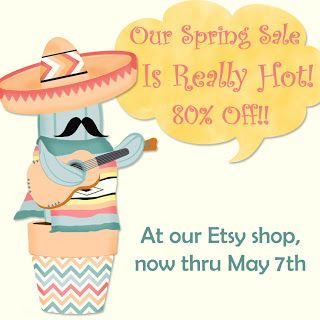 What's in the Candy Box: ***80% OFF SPRING SALE AT OUR ETSY SHOP!!*** Great discounts on digital papers, clip art, digital scrapbook embellishments, party and printables!