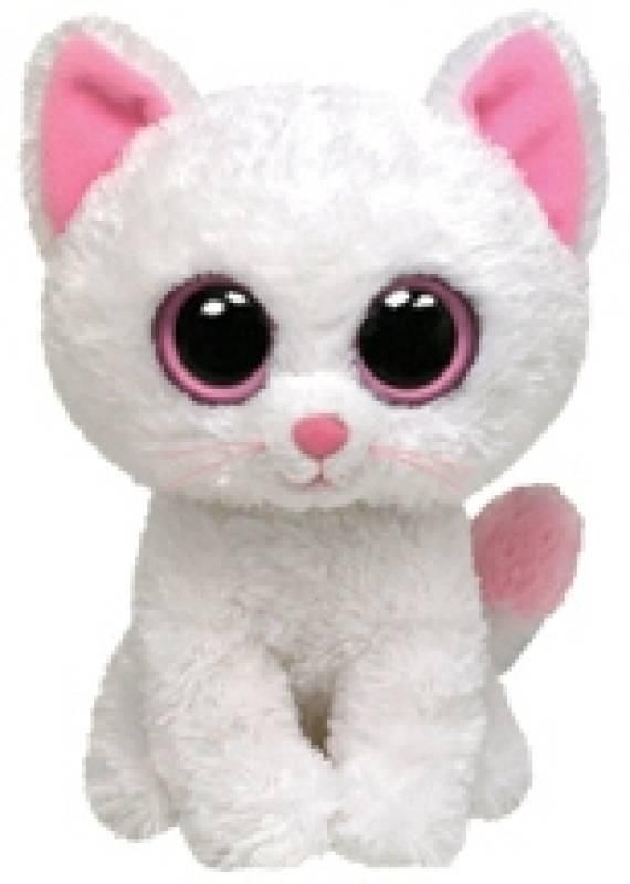 Ty Peluche Chat Cashmere Beanie Boo's - 23 cm