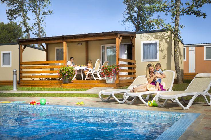 Premium Mobile Homes @ Campsite Valkanela, Vrsar, Istria, Croatia