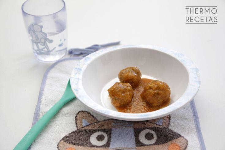 Albóndigas de carne para bebés - http://www.thermorecetas.com/albondigas-carne-bebes/