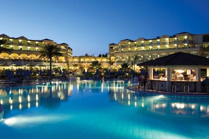Lindos Princess Beach Hotel! in the night! Such a lovely hotel!! Stayed in 2014.