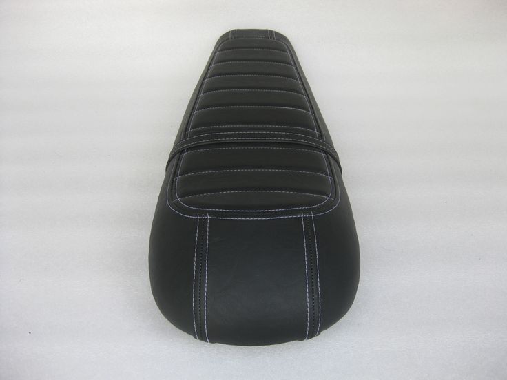 Motorcycle Seats Direct - Honda CX500 Standard Deluxe / Shadow cafe racer seat with modified seat pan