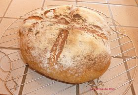 La cocina de Myri: Pan casero en olla o cazuela de hierro