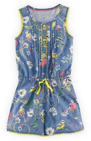 Toddler girl 39 s mini boden 39 pretty 39 romper rompers girls for Boden jumpsuit