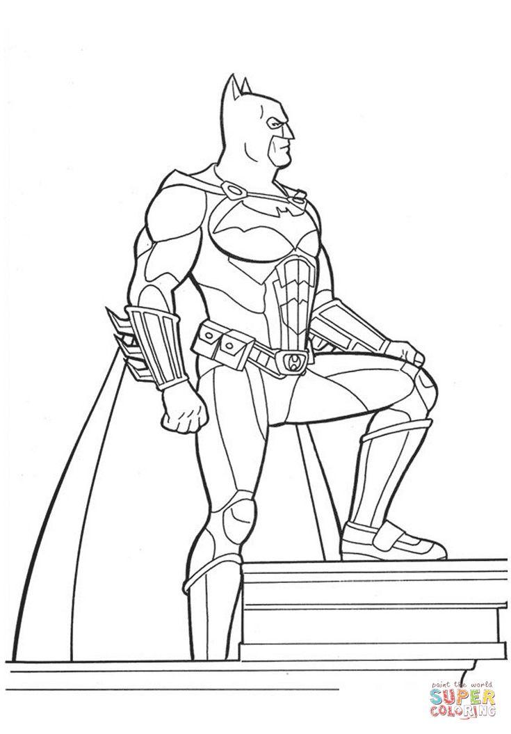 7 best Batman Coloring Pages images on Pinterest   Batman, Coloring ...