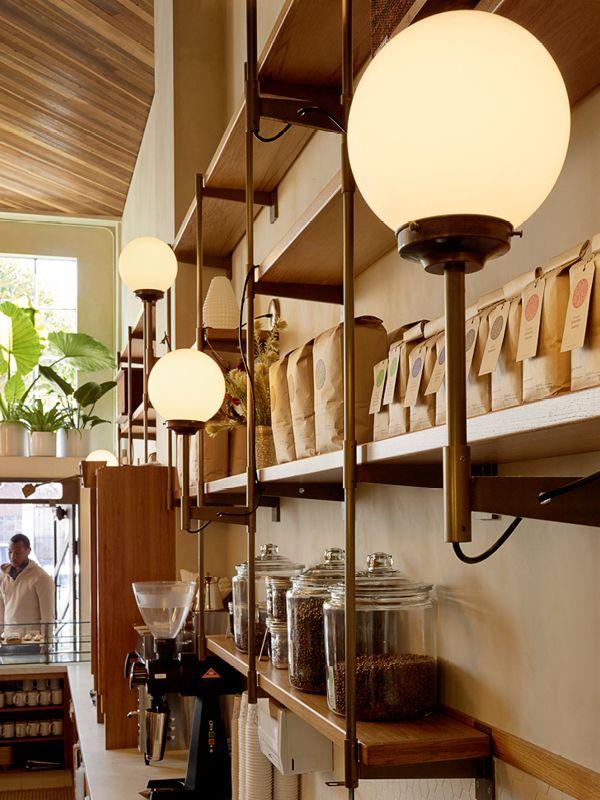 Ceiling Lighting Restaurant InteriorsCafe RestaurantInterior Design BlogsArchitecture PhotoCoffee ShopsBridgesCoffee San FranciscoFrancisco