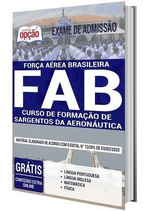 Apostila Exame De Admissao Fab 2021 Curso De Formacao De