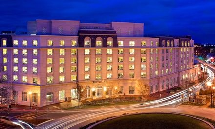 4-star Westin hotel less than a mile from downtown Annapolis, with a restaurant and an Aveda spa