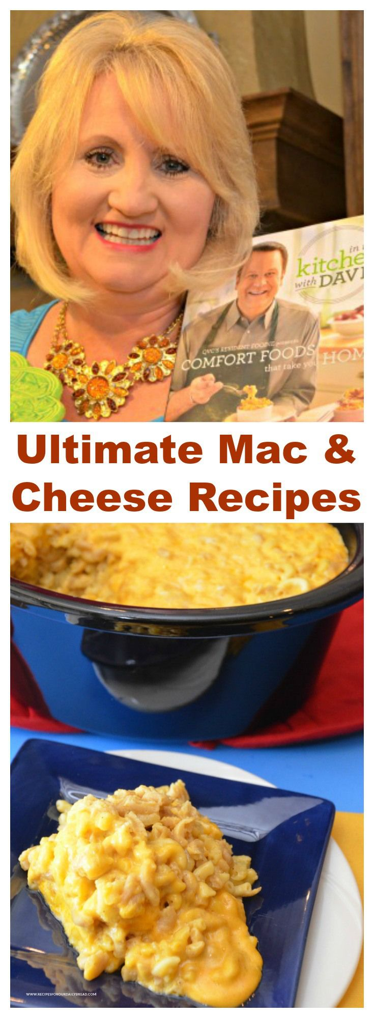Everyone loves a homemade creamy ooey gooey Mac and Cheese recipe for Thanksgiving. This post includes my two favorite #recipes a baked #Mac and Cheese and a slow cooker #Mac & Cheese plus delicious Mac & Cheese recipes from my favorite bloggers. #maccheese #macandcheese #sides